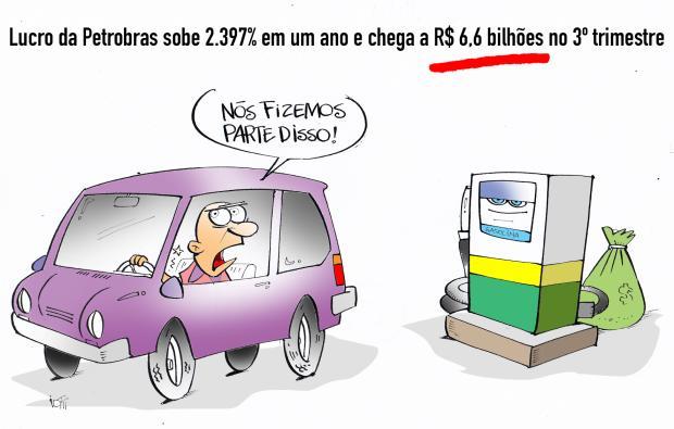 Iotti: aumenta o lucro da Petrobrás e o valor da gasolina Iotti / Agência RBS/Agência RBS