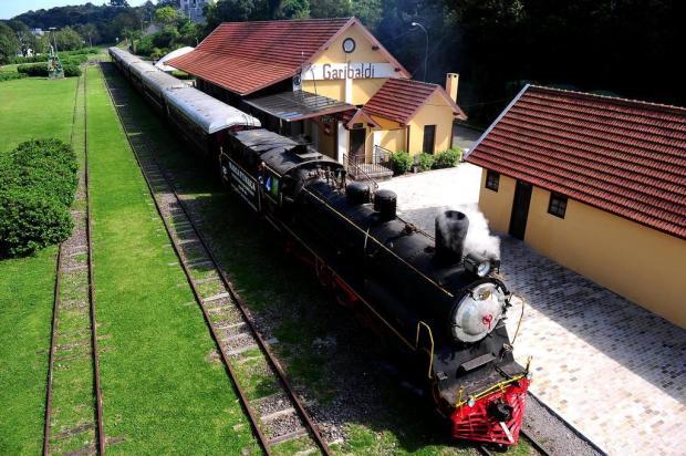 A centenária Estação Férrea de Garibaldi é parte importante para o desenvolvimento da Serra Diogo Sallaberry/Agencia RBS