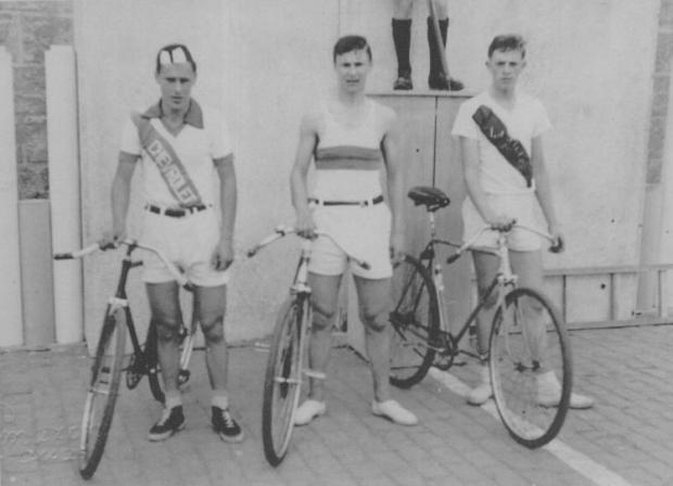 Memória: Charles Lamb nas Olimpíadas Caxienses de 1952 Studio Tomazoni Caxias / Acervo de família, divulgação/Acervo de família, divulgação