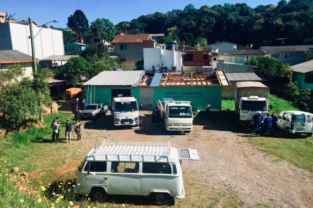 Prefeitura inicia demolição de Centro Comunitário na região do bairro Desvio Rizzo, em Caxias Mateus Frazão / Agência RBS/Agência RBS