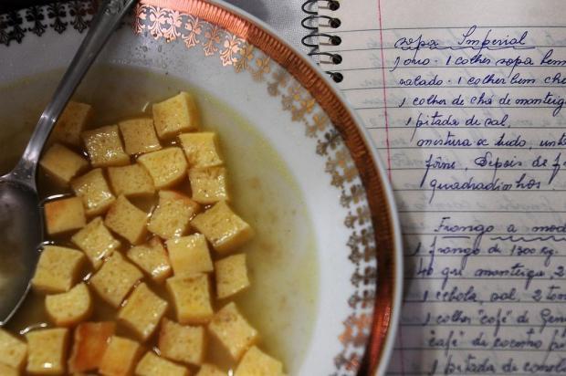 Casados por 72 anos, Severina e Thomaso incorporaram à família Radaelli o gosto da sopa imperial Marcelo Casagrande/Agencia RBS