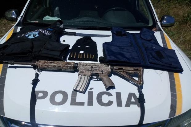Em 20 horas de cerco, BM prende sexto suspeito de assalto a bancos em Coronel Pilar Brigada Militar  / Divulgação /Divulgação