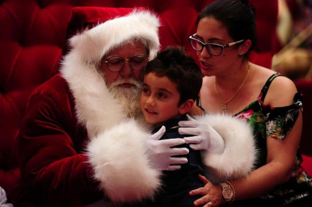 Papai Noel chega no Shopping Iguatemi Caxias Marcelo Casagrande/Agencia RBS