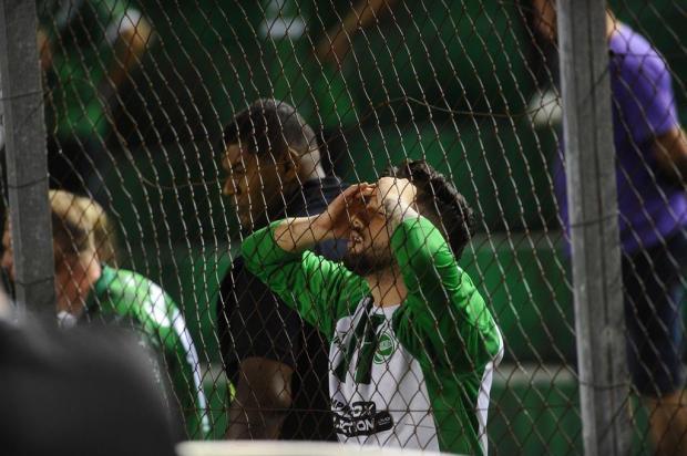 Intervalo: O retorno para a Série C e o repetido roteiro no jogo que decretou o rebaixamento Porthus Junior/Agencia RBS