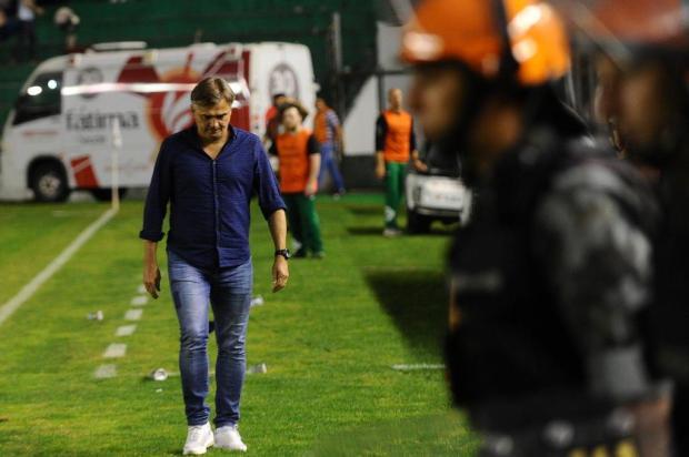 """""""Situação de ladeira abaixo"""", diz Winck sobre quando assumiu o Juventude Porthus Junior/Agencia RBS"""