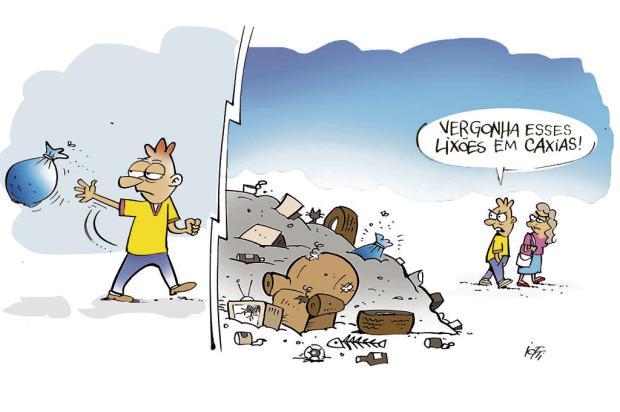 Iotti: os lixões de Caxias Iotti/
