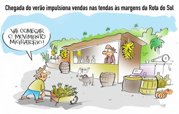 Iotti: verão impulsiona vendas nas tendas Iotti  / Agência RBS /Agência RBS