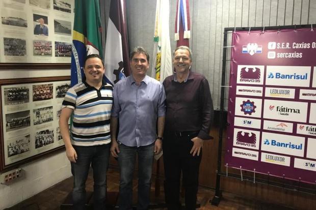Vitacir Pellin toma posse como novo presidente do Caxias Diogo Aver/Caxias,divulgação