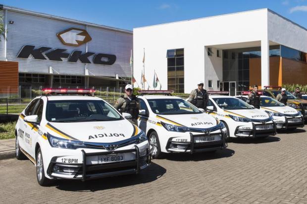 Keko cria e doa acessório para viaturas da Brigada Militar que atuarão em cidades da Serra Jean Carlo Dal Alba/divulgação