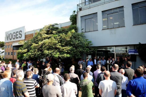 Impasse no pagamento da primeira parcela da venda da Voges em Caxias Diogo Sallaberry/Agencia RBS