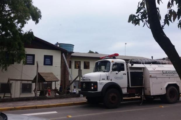 Moradores de Gramado reclamam de falta de água há 15 dias Divulgação/Divulgação