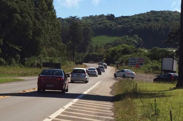 Movimento intenso mas sem congestionamentos na Rota do Sol Lizie Antonello / Agência RBS/Agência RBS