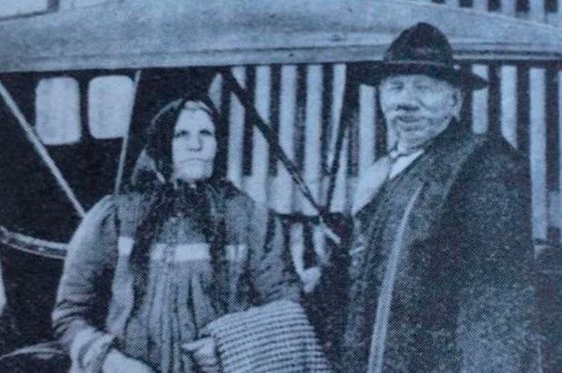 Memória: Encontro da família Brandalise em Veranópolis Acervo de família / Divulgação/Divulgação