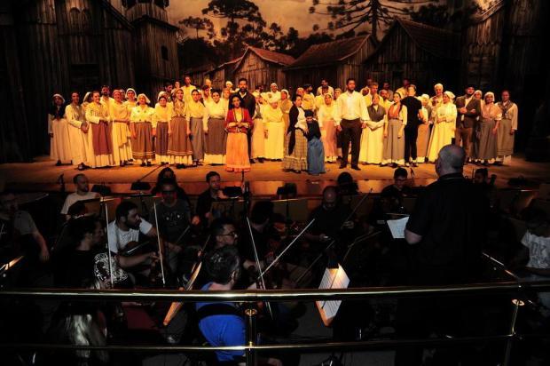 """Com cerca de 120 artistas, """"Cavalleria Rusticana"""" marca o retorno das óperas a Caxias do Sul Porthus Junior/Agencia RBS"""