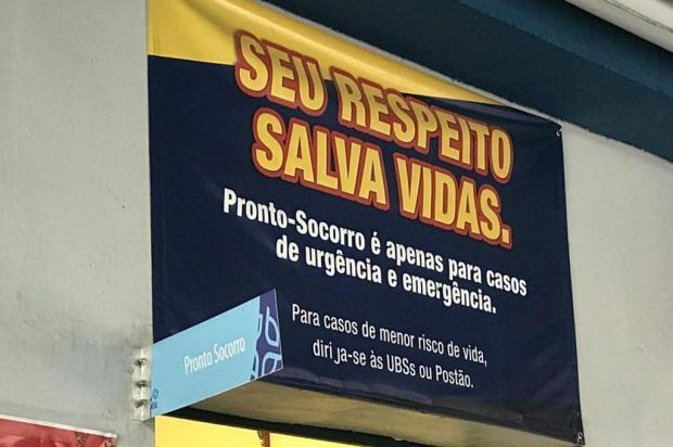 Um mês após fechamento de Postão, pronto-atendimentos registram aumento de demanda entre 10% e 20% Diego Mandarino/Agência RBS