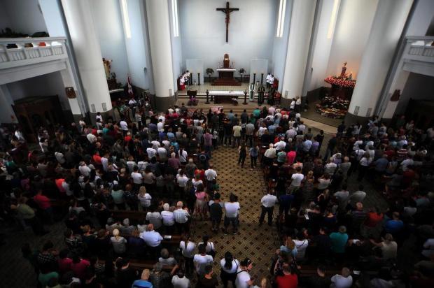 Missa no Santuário de Caravaggio celebra Dia Mundial dos Pobres Felipe Nyland/Agencia RBS