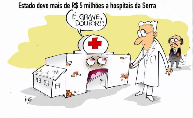 Iotti: a situação dos hospitais da Serra Iotti / Agência RBS /Agência RBS