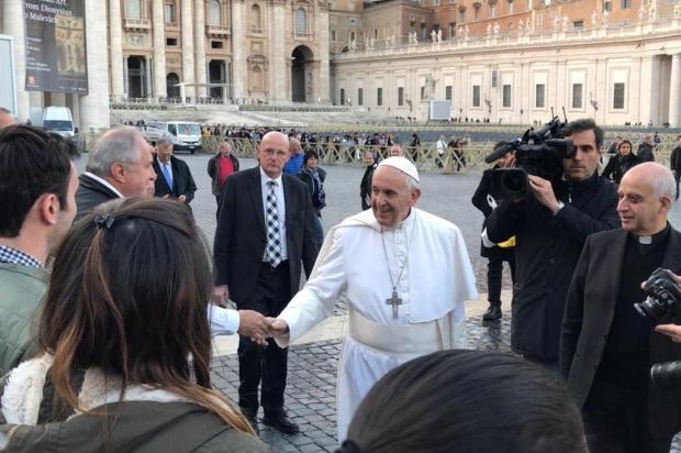 Empresário da Serra mais próximo do Papa Francisco arquivo pessoal/divulgação