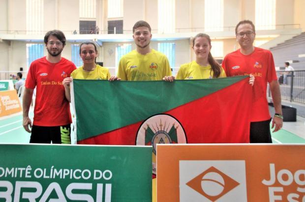 Atletas de Caxias do Sul garantem quatro medalhas no badminton Roberta Amaral/Divulgação