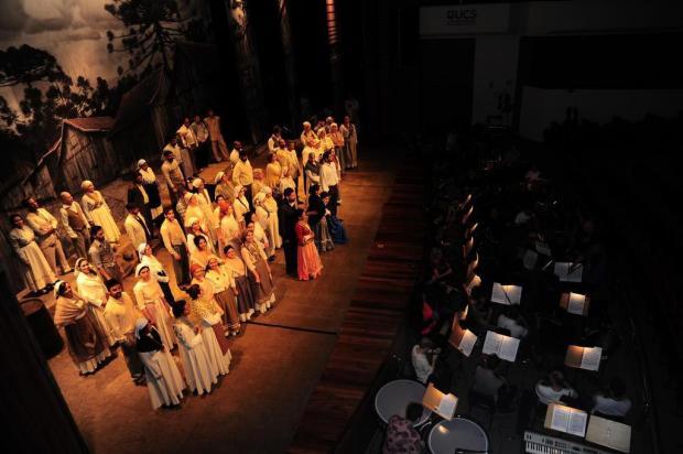 "Agenda: ""Ópera Cavalleria Rusticana"" será apresentada nesta quinta, no UCS Teatro Porthus Junior/Agencia RBS"
