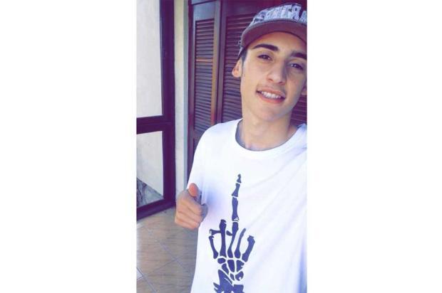 Adolescente atropelado por ônibus será sepultado nesta quinta-feira em Caxias do Sul Facebook / Reprodução/Reprodução