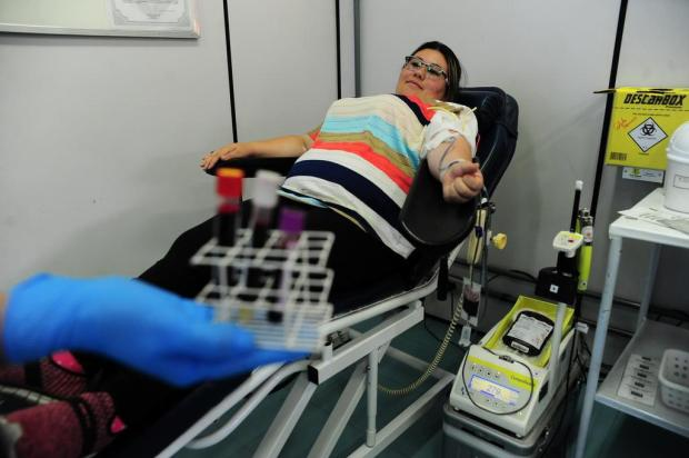 Ações marcam o Dia Nacional do Doador de Sangue em Caxias do Sul Porthus Junior/Agencia RBS