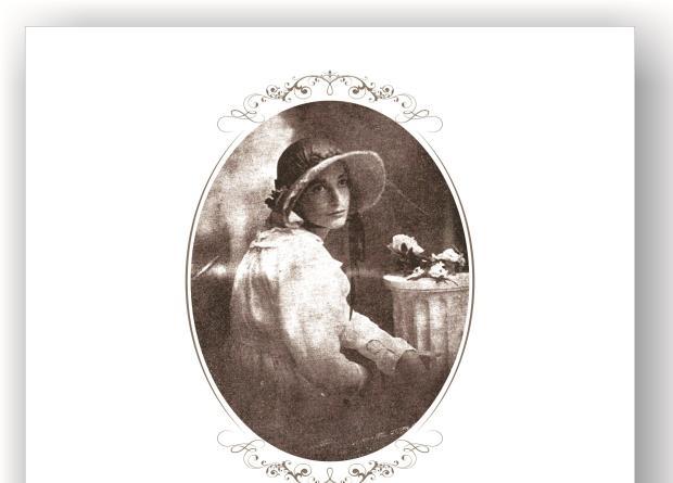 Memória: Antecipando a biografia da poetisa Vivita Cartier Arte gráfica de Ernani Carraro / reprodução/reprodução