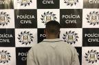 Polícia Civil prende assaltante que manteve reféns por quatro horas em Caxias do Sul Polícia Civil  / Divulgação /Divulgação