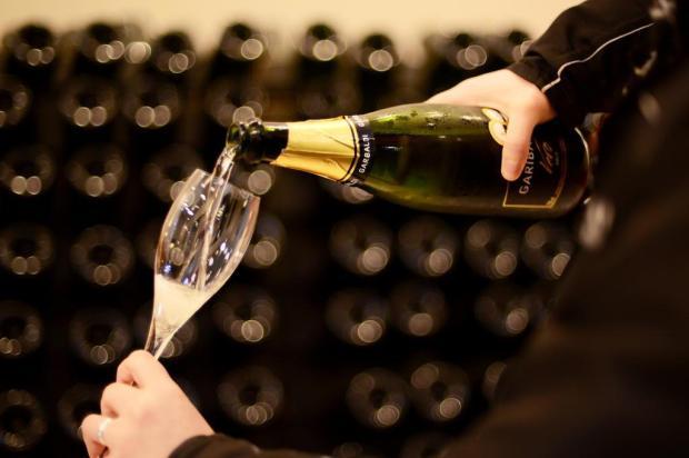 2,8 milhões de garrafas de espumantes vendidas em 2018 Cassius André Fanti/divulgação