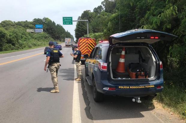 Pedestre fica ferido em atropelamento na BR-470, em Garibaldi Altamir Oliveira/Rádio Estação