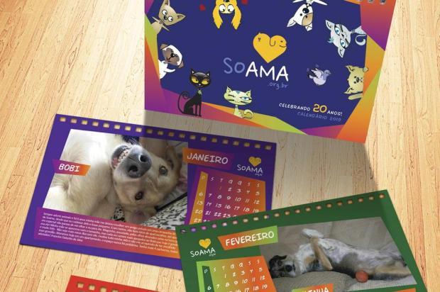 3por4: Calendários 2019 da Soama já estão disponíveis para venda Reprodução/Reprodução