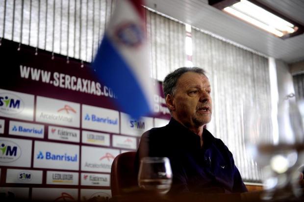 """""""Sempre queremos um clube vencedor, não podemos pensar diferente"""", diz Vitacir Pellin Lucas Amorelli/Agencia RBS"""