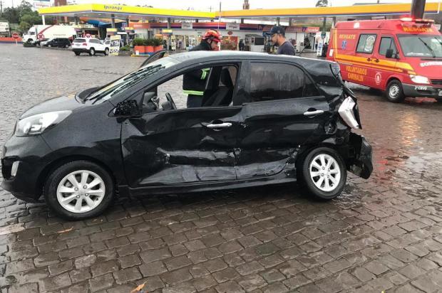Homem morre em acidente envolvendo carro e caminhão na BR-470 em Garibaldi Altamir Oliveira/Rádio Estação FM