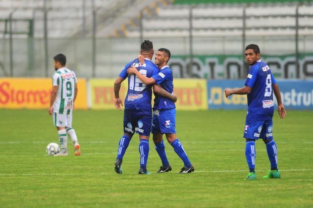 Juventude é goleado pelo CSA e alagoanos comemoram acesso para a elite no Alfredo Jaconi Porthus Junior/Agencia RBS