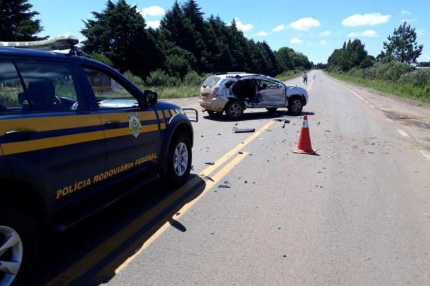 Menina morre em colisão na BR-285, em Vacaria PRF/Divulgação