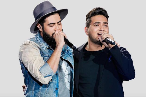 Agenda: dupla Henrique & Juliano faz show em Carlos Barbosa, no domingo Flaney/Divulgação