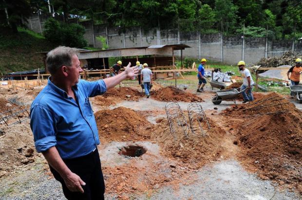 Nova escola é erguida no Case em Caxias do Sul Porthus Junior/Agencia RBS
