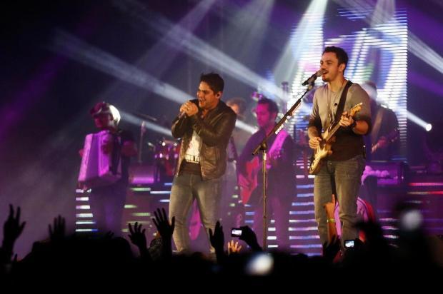 """Jorge & Mateus apresentam show da turnê """"Terra Sem CEP"""" sexta-feira, em Caxias Maicon Damasceno/Agencia RBS"""