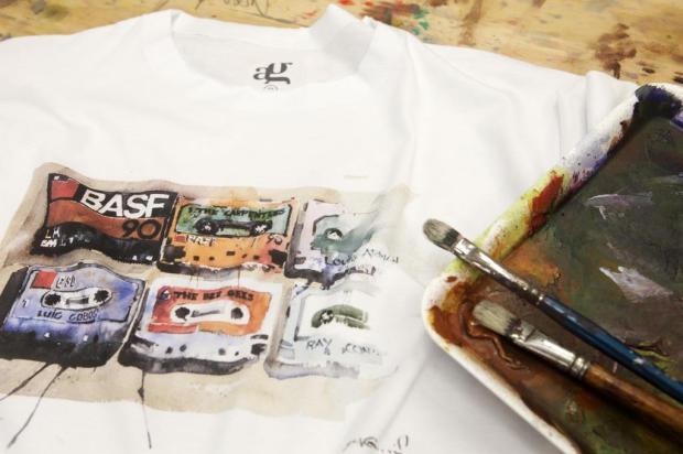 3por4: Artista Antonio Giacomin lança linha de camisetas Daniela Xu/Divulgação