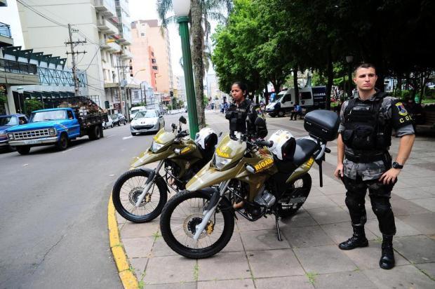 Reforço para garantir a tranquilidade nas compras de Caxias do Sul Porthus Junior/Agencia RBS