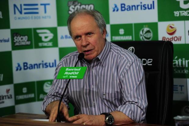 """""""Ninguém vai decidir nada sozinho"""", afirma Pioner sobre decisões no futebol do Juventude Porthus Junior/Agencia RBS"""