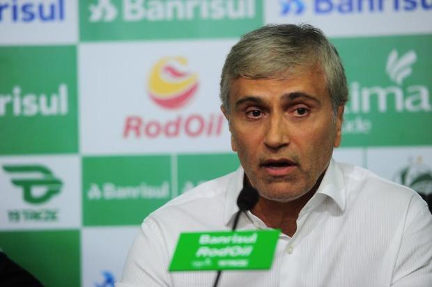 """Intervalo: """"o momento é de ter ambição, mas com os pés no chão"""" Porthus Junior/Agencia RBS"""