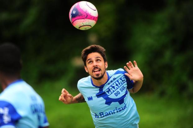 Antes da pré-temporada, jogadores do Caxias já iniciam trabalhos no Centenário Porthus Junior/Agencia RBS
