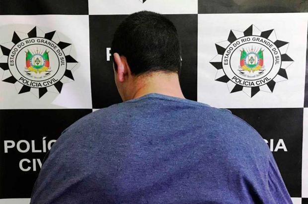 Suspeito de matar homem a facadas em bar de Canela é preso pela Polícia Civil Polícia Civil / divulgação/divulgação