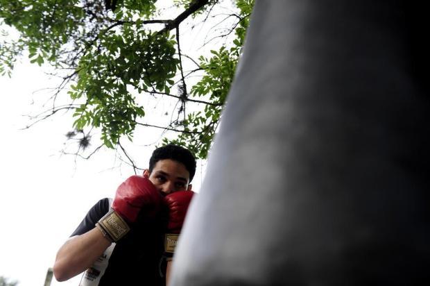 Amadores Futebol Clube: conheça Derick Machado, lutador de boxe olímpico Lucas Amorelli/Agencia RBS