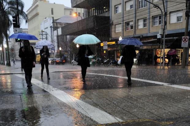Sexta-feira será de chuva e temperaturas amenas na Serra Marcelo Casagrande/Agencia RBS