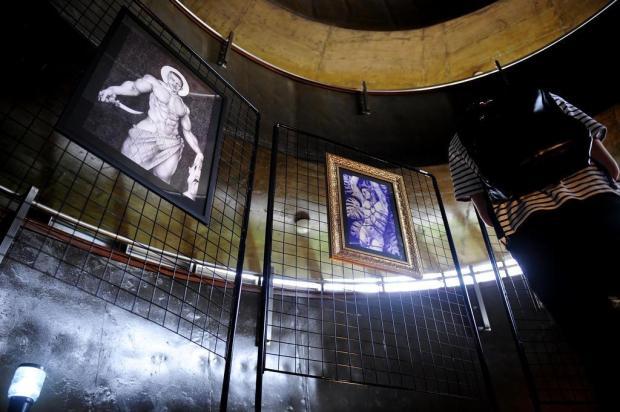 Obras do artista caxiense Rafael Dambros podem ser vistas até esta sexta-feira Lucas Amorelli/Agencia RBS