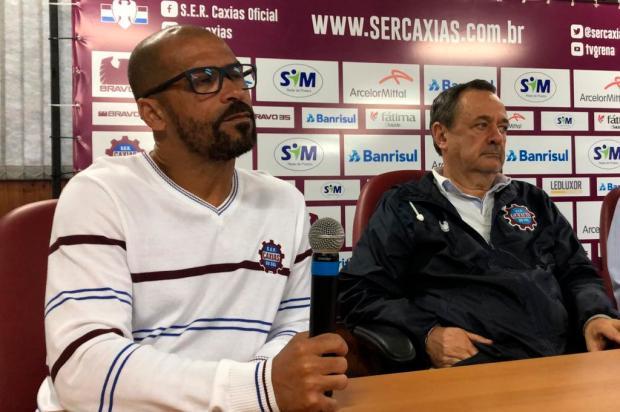 Com a promessa de bom futebol, Pingo é apresentado como técnico do Caxias Porthus Junior / Agência RBS/Agência RBS