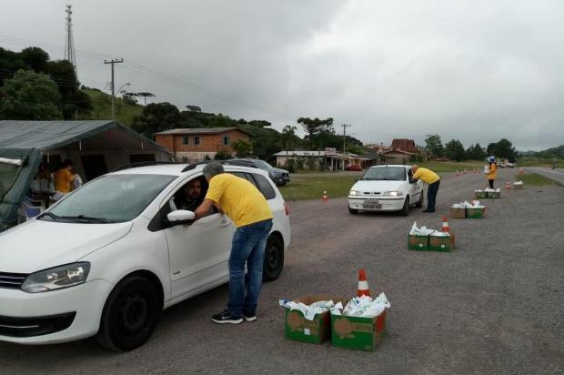 Pit Stop na Rota do Sol mobiliza motoristas a manterem distância entre veículos Francine Spiller/Divulgação