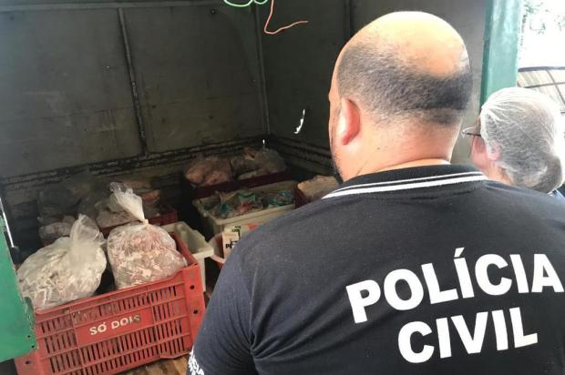 Polícia apreende quase uma tonelada de produtos impróprios em estabelecimentos de Canela Divulgação/Polícia Civil